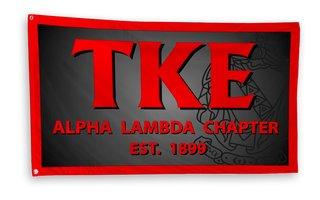 Tau Kappa Epsilon 3 x 5 Flag