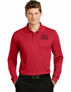 Tau Kappa Epsilon- $30 World Famous Long Sleeve Dry Fit Polo