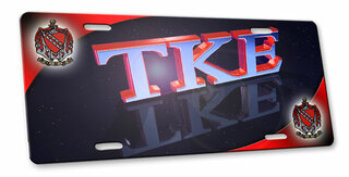 Tau Kappa Epsilon 3d License Cover