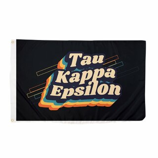 Tau Kappa Epsilon 70's Flag