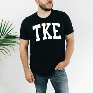 Tau Kappa Epsilon Arched Greek Letter T-Shirt