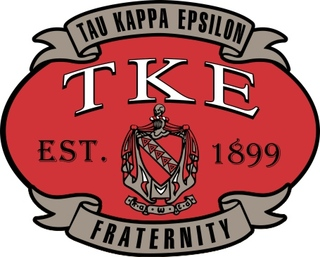 Tau Kappa Epsilon Banner Crest - Shield Decal