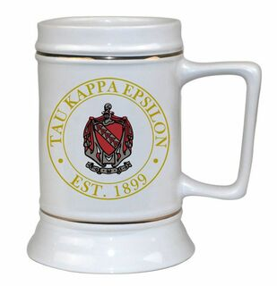 Tau Kappa Epsilon Ceramic Steins