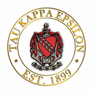 Tau Kappa Epsilon Circle Crest - Shield Decal