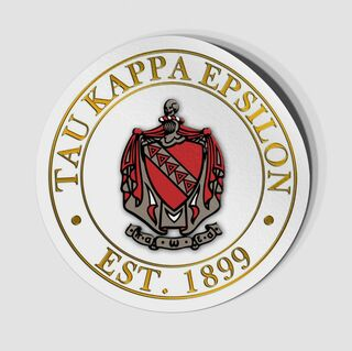 Tau Kappa Epsilon Circle Crest - Shield Decal