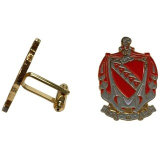 Tau Kappa Epsilon Color Crest - Shield Cuff links