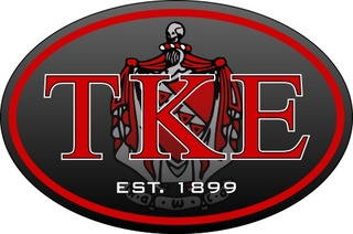 Tau Kappa Epsilon Color Oval Decal