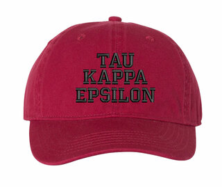 Tau Kappa Epsilon Comfort Colors Pigment Dyed Baseball Cap