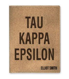 Tau Kappa Epsilon Cork Portfolio with Notepad