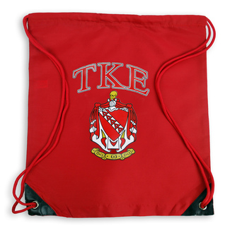 Tau Kappa Epsilon Crest - Shield Cinch Sack