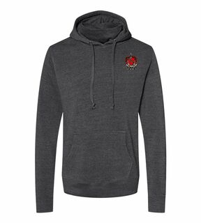 Tau Kappa Epsilon Crest Gaiter Fleece Hooded Sweatshirt