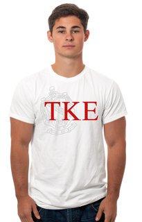 Tau Kappa Epsilon Crest - Shield Tees