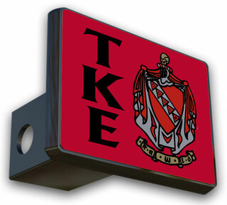 Tau Kappa Epsilon Crest Trailer Hitch Covers