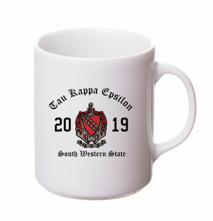 Tau Kappa Epsilon Crest & Year Ceramic Mug