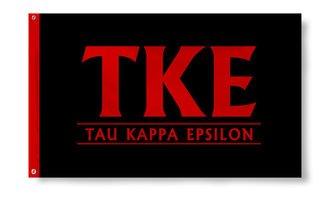 Tau Kappa Epsilon Custom Line Flag