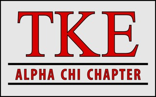 Tau Kappa Epsilon Custom Line Sticker Decal