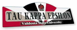 Tau Kappa Epsilon Display Sign