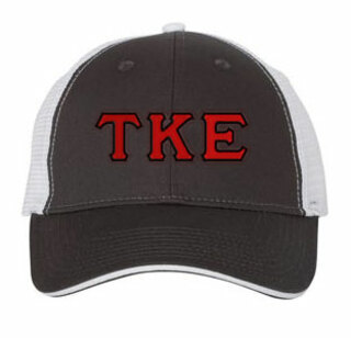 Tau Kappa Epsilon Double Greek Trucker Cap