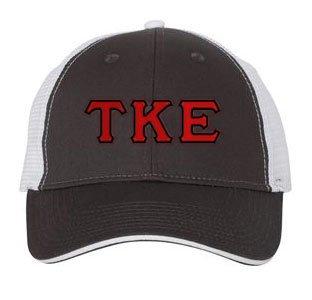 Tau Kappa Epsilon Double Greek Trucker Cap