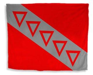 Tau Kappa Epsilon Flag Giant Velveteen Blanket