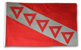 Tau Kappa Epsilon Flag TKE Flag 3' x 5'
