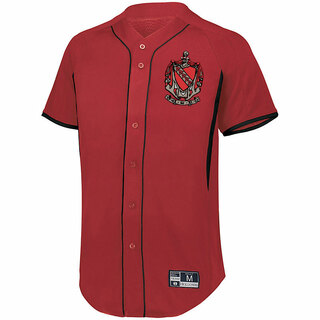 Tau Kappa Epsilon Game 7 Full-Button Baseball Jersey