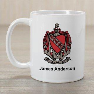 Tau Kappa Epsilon Greek Crest Coffee Mug - Personalized!