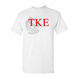 Tau Kappa Epsilon Greek Crest - Shield T-Shirt