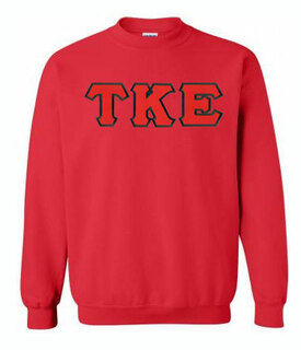 Tau Kappa Epsilon Greek Crewneck- MADE FAST!