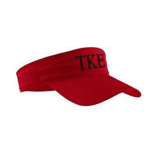 Tau Kappa Epsilon Greek Letter Visor