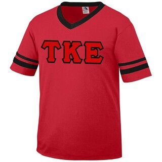 DISCOUNT-Tau Kappa Epsilon Jersey With Custom Sleeves