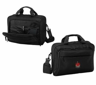 DISCOUNT-Tau Kappa Epsilon Crest - Shield Briefcase Attache