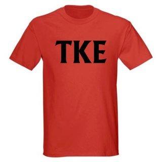Tau Kappa Epsilon letter Tees