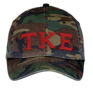 Tau Kappa Epsilon Lettered Camouflage Hat