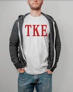 Tau Kappa Epsilon Lettered Tees - $9.95!