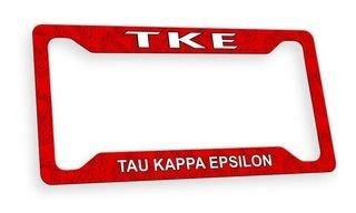 Tau Kappa Epsilon Custom License Plate Frame