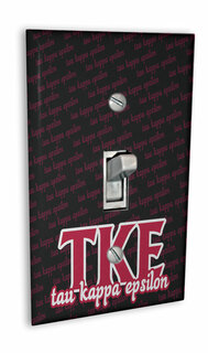 Tau Kappa Epsilon Light Switch Cover