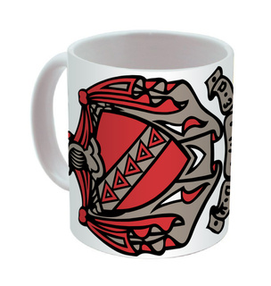 Tau Kappa Epsilon Mega Crest - Shield Coffee Mug
