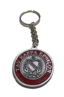 Tau Kappa Epsilon Metal Fraternity Key Chain