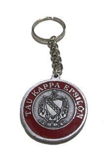 Tau Kappa Epsilon Metal Fraternity Key Chain