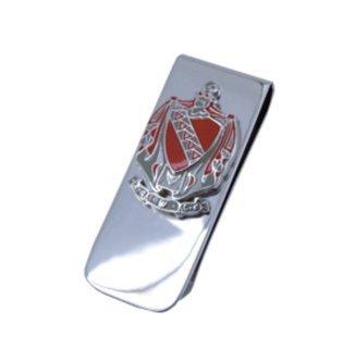 Tau Kappa Epsilon Money Clip with coat of arms