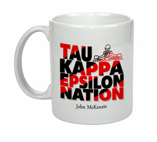 Tau Kappa Epsilon Nations Coffee Mug