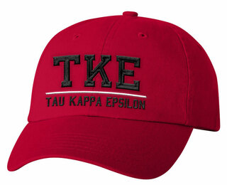 Tau Kappa Epsilon Old School Greek Letter Hat