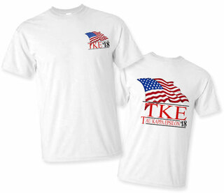 Tau Kappa Epsilon Patriot Limited Edition Tee- $15!