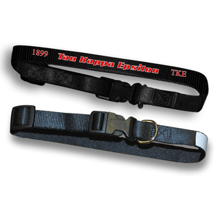 Tau Kappa Epsilon Pet Collar