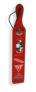 Tau Kappa Epsilon Printed Wood Greek Paddle