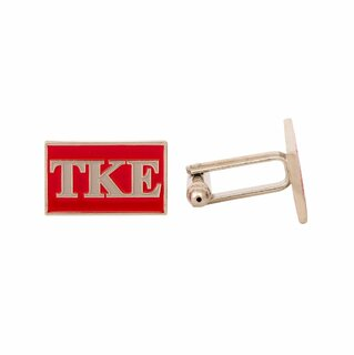 Tau Kappa Epsilon Rectangle Cuff Links