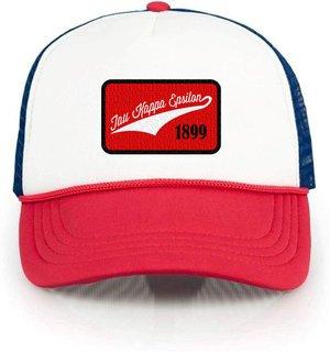 Tau Kappa Epsilon Red, White & Blue Trucker Hat