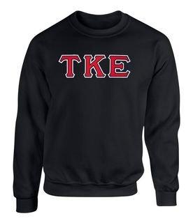Tau Kappa Epsilon - 2 Day Ship Twill Crewneck Sweatshirt