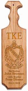 Tau Kappa Epsilon Traditional Greek Paddle